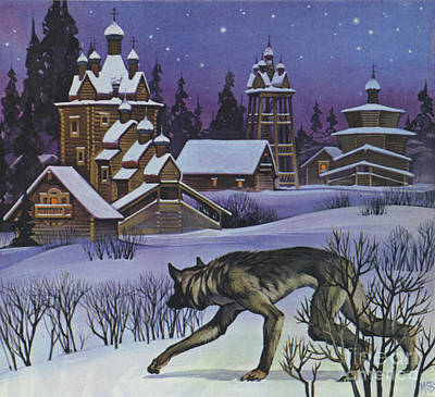 Painting - Werewolves by Angus McBride