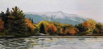 Painting - West Branch View by Susan E Hanna