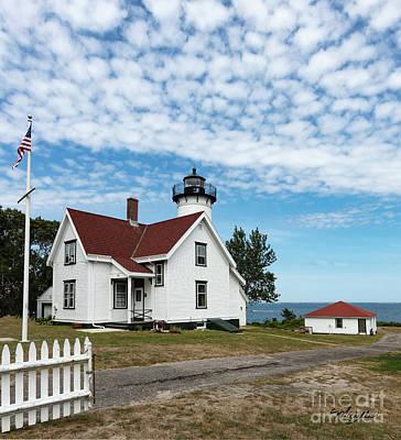 Photograph - West Chop Lighthouse Marthas Vineyard by Michelle Constantine