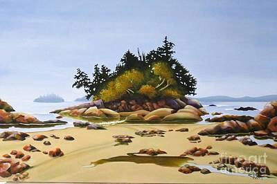 Painting - West Coast Serenity by Elissa Anthony
