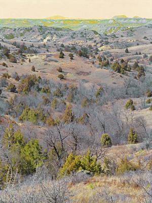 Photograph - West Dakota Prairie Reverie by Cris Fulton