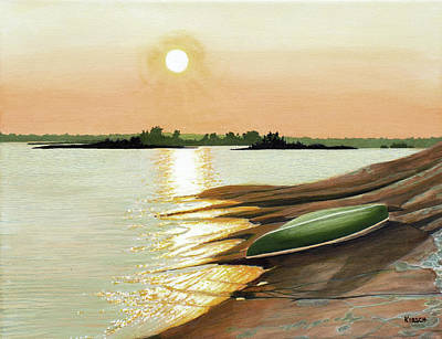 Painting - West Dejardin Bay by Kenneth Kirsch