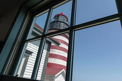Photograph - West Quoddy Head Light by Bob Doucette