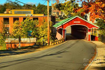 Photograph - West Swanzey Main Street Bridge by Adam Jewell