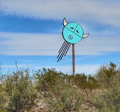 Photograph - West Texas Talisman In The Sky   by Gia Marie Houck