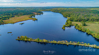 Photograph - West Thompson Lake by Michael Hughes