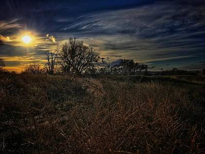 Photograph - Western Nebraska Winter by Dan Miller