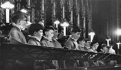 Photograph - Westminster Abbey Choir by Erich Auerbach