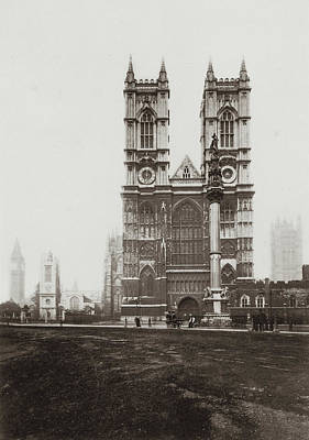 Westminster Abbey Art Print by Otto Herschan Collection