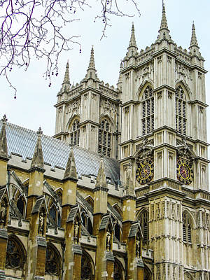 Photograph - Westminster Abbey by Paul Croll