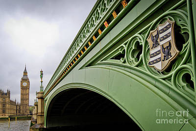 Photograph - Westminster Bridge by Arnaldo Tarsetti