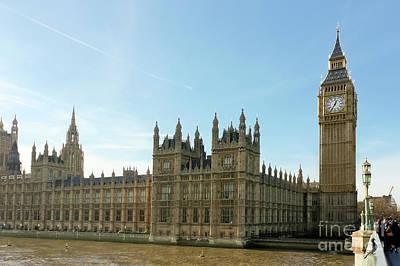 Photograph - Westminster Bridge by Terri Waters