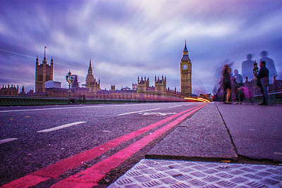Royalty-Free and Rights-Managed Images - Westminster Nights by Martin Newman