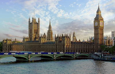 Photograph - Westminster Palace by Anthony Dezenzio