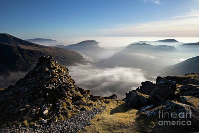 Photograph - Westmorland Cairn View Of Wast Water by Gavin Dronfield