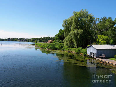 Photograph - Westport Harbour On Upper Rideau Lake by Louise Heusinkveld