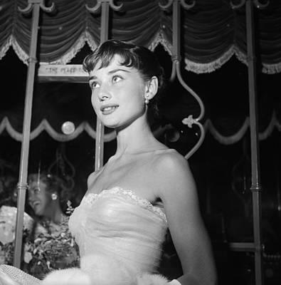 Photograph - Westwood, Audrey Hepburn by Michael Ochs Archives