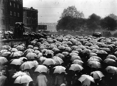 Photograph - Wet Demo by Hulton Archive