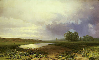 Painting - Wet Meadow  by Fedor Vasilyev