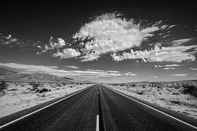 Christmas Christopher And Amanda Elwell - Weve Been Down This Road Before - Black and White by Peter Tellone