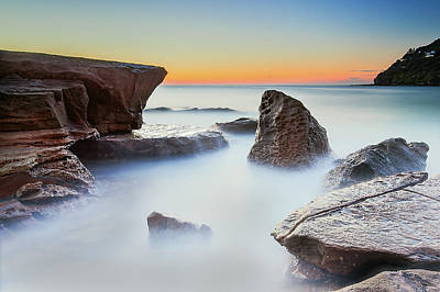 Photograph - Whale Beach Rock Shelf by Bruce Hood