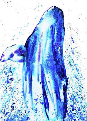 Wall Art - Painting - Whale by Patrizia K Ingram