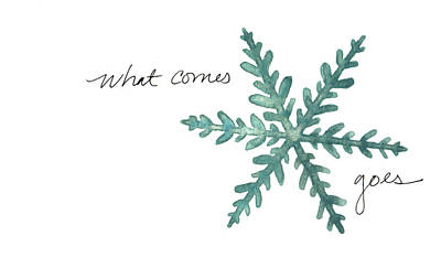 Painting - What Comes Goes by Anna Elkins