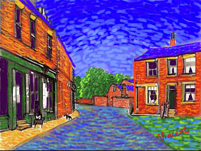 Painting - What If...vincent Went To Gildersome by Glenn Marshall
