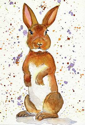 Painting - What's Up Doc? by Andrea Rubinstein