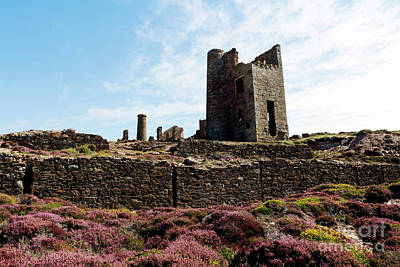 Photograph - Wheal Coates Whim Engine House by Terri Waters