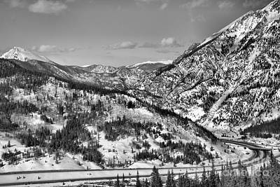 Photograph - Wheeler Junction Overlook Black And White by Adam Jewell