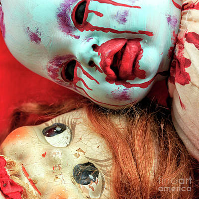 Photograph - When Good Dolls Go Bad by John Rizzuto