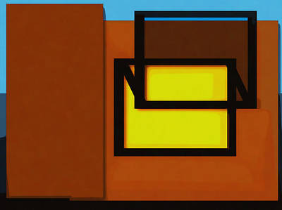 Digital Art - When It Looks So Bright Inside But There Is No Way In by Philip A Swiderski Jr
