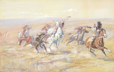 Target Threshold Nature - When Sioux and Blackfoot Meet  by Artistic Panda