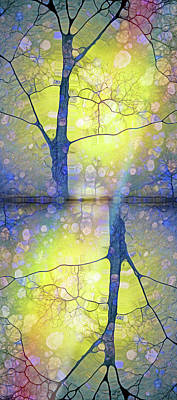 Digital Art - When Winter Rejoices In The Expectation Of Spring by Tara Turner