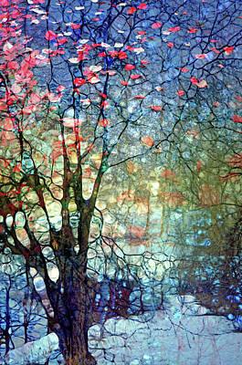 Digital Art - When Winter Thinks Of  Autumn by Tara Turner