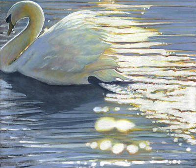 Painting - Where Grace Has Been by Helen White