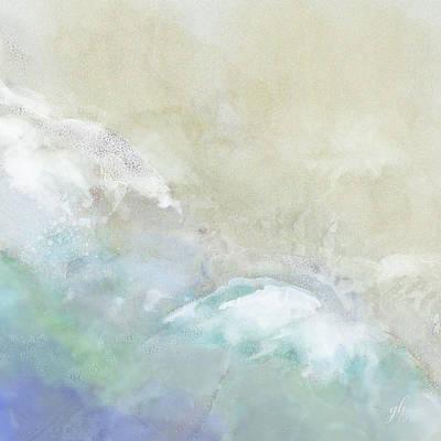 Digital Art - Where Sea Meets Shore by Gina Harrison