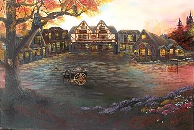 Painting - Where Stories Are Told by Verna Coy
