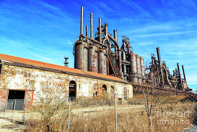 Photograph - Where They Worked At Bethlehem Steel by John Rizzuto