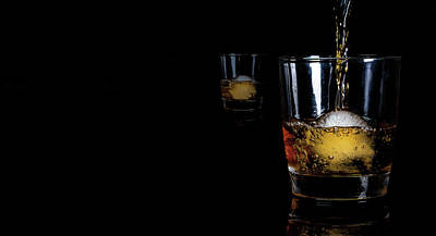 Photograph - Whisky On Ice For Two by Ant Pruitt