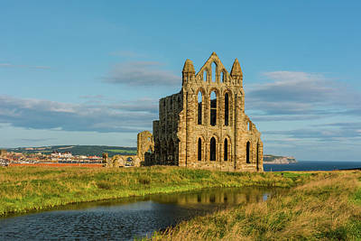 Photograph - Whitby Abbey, Yorkshire by David Ross