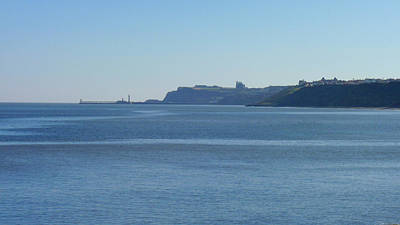 Photograph - Whitby From Sandsend - A Distant View by Chris Gill