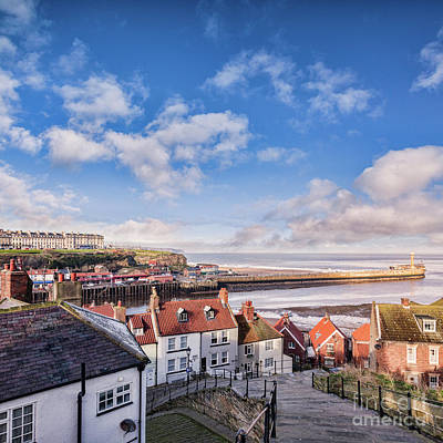Polaroid Camera - Whitby from the 199 Steps by Colin and Linda McKie