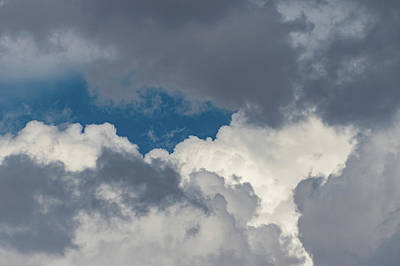 Photograph - White And Gray Clouds by Douglas Killourie