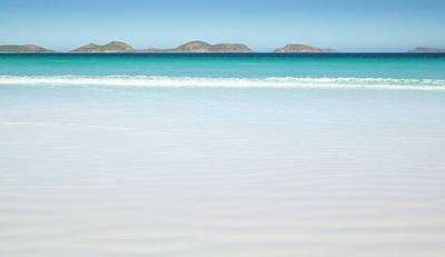 Photograph - White Beach, Surf And Islands, Australia by Eastcott Momatiuk