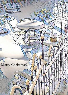 Photograph - White Christmas by Jodie Marie Anne Richardson Traugott          aka jm-ART