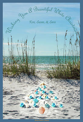 Photograph - White Christmas On Anna Maria Island by Susan Molnar