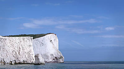 Channel Wall Art - Photograph - White Cliffs Of Dover by Dave Carr