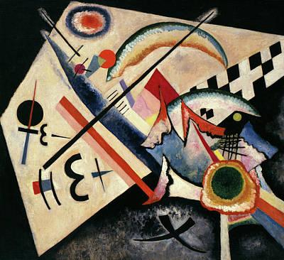 Kandinsky Wall Art - Painting - White Cross - Weisses Kreuz, 1922 by Wassily Kandinsky